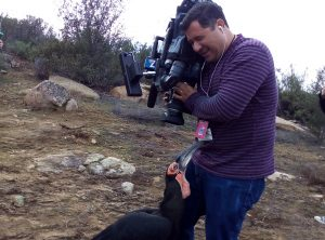 Southern Ground Hornbill Kipling meets the very patient cameraman