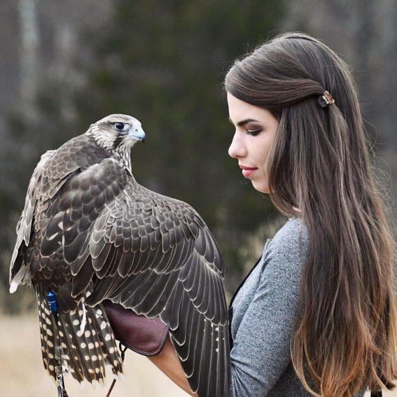 Paige Davis Curator of Bird Training